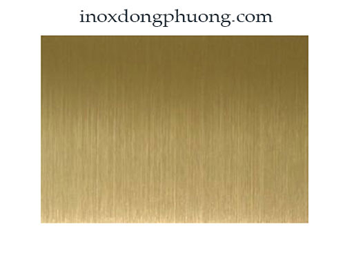 Tấm inox 201 vàng xước dày 0.8mm
